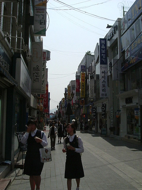 Downtown Chuncheon
