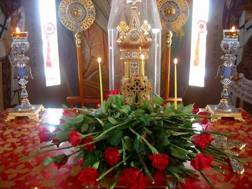 Cross on the Altar