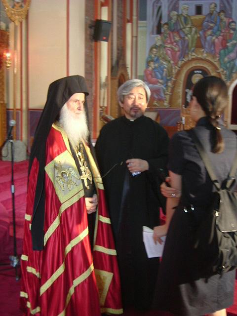 Fr. Daniel and Met. Soterios