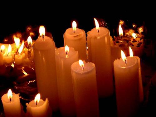 Candles at Jogyesa