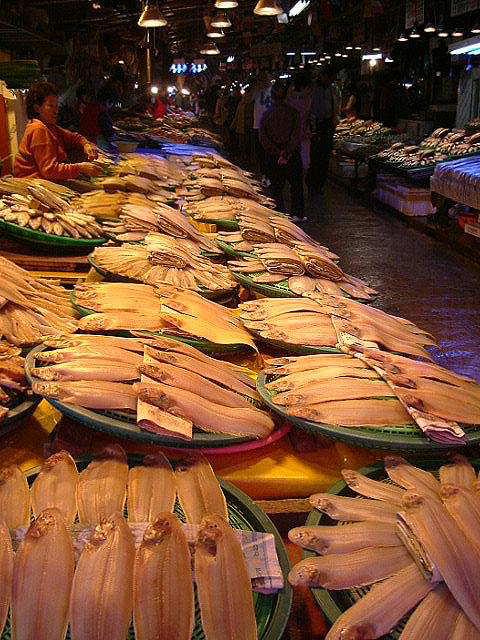 Sorae Poku Fish Market